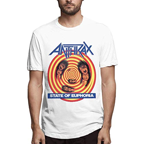 Anthrax Herren Kurzarm T-Shirt,L