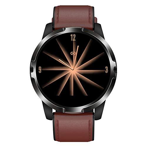 GUOJIAYI Smart Armband, runder Bildschirm, Schrittzähler, Bluetooth, wasserdichte Sportuhr