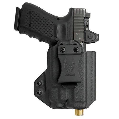 Werkz M2 IWB Holster Compatible with Glock 19/19x/23/32/45 (Gen3/4/5) with Streamlight TLR-8 / TLR-8A | Ambidextrous