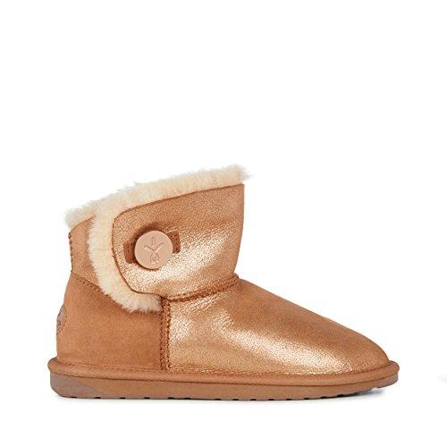 EMU Australia Womens Denman Mini Sheepskin Boots Size 38 EMU Boots