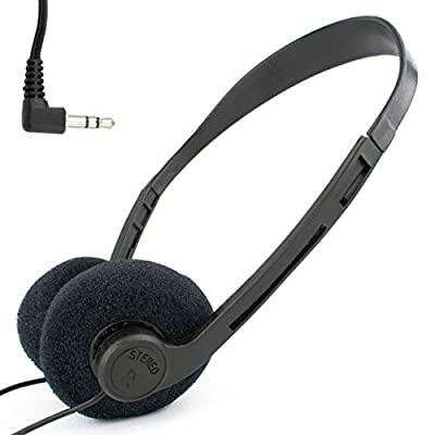 Over-Ear Lightweight Stereo Headphones with 1.2m Lead / 3.5mm Jack for PC, Laptop, Tablet, TV, iPod, MP3 / iCHOOSE