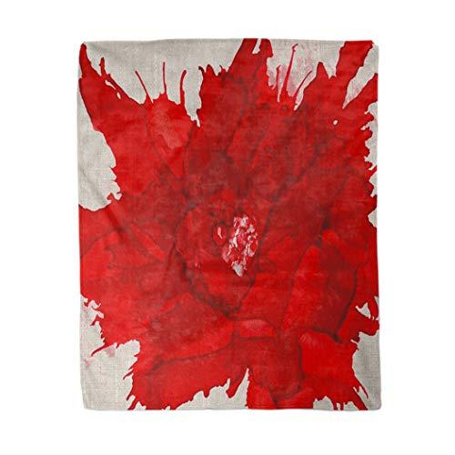 Topyee 130x150 cm Gooi Deken Roze Dier Grappig Varken Leuke Aquarel Boerderij Schilderen Baby Warm Gezellige Print Flanellen Home Decor Comfortabele Deken voor Bank Slaapbank Bed