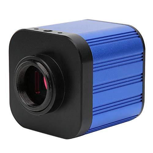 【2021 Neujahrsaktion】Jarchii Mikroskopkamera, 4 Karat mikroskop Kamera, 100-240 v hdmi USB Digitale elektrische industriemikroskop Kamera mit Fernbedienung für wartungsinspektion Mobile CPU leiterplat