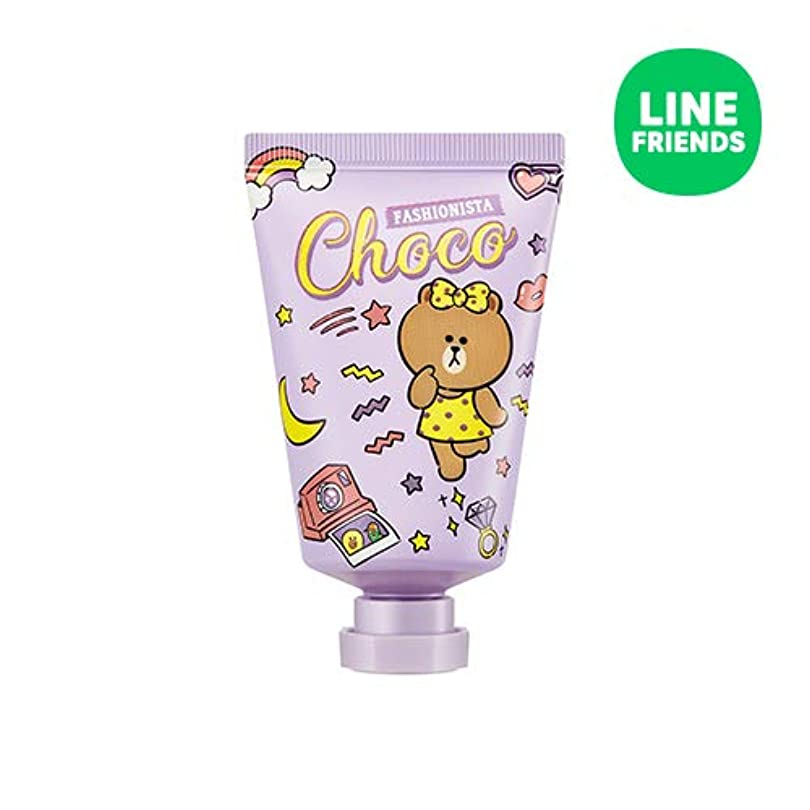 結核有害挑むミシャ(ラインフレンズ)ラブシークレットハンドクリーム 30ml MISSHA [Line Friends Edition] Love Secret Hand Cream - Choco # Pitch Cocktail [並行輸入品]