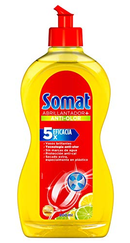 Somat Abrillantador Limón para lavavajillas máquina + Secado Extra - 500 ml
