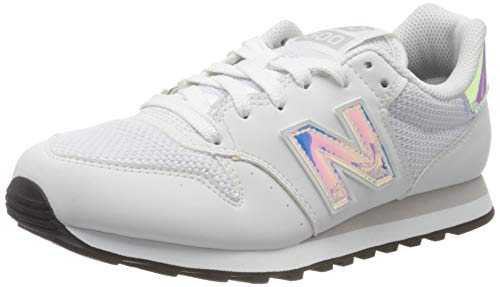 New Balance Damen 500 Sneaker, Weiß (GW500HGX), 37.5 EU