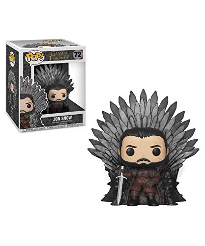 Funko Pop! Got – Games of Thrones – Jon Snow (Iron Throne) #72 Figurine en vinyle 15 cm Released 2019