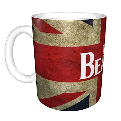The Beatles - Taza de café y té con palabras divertidas, regalo de cerámica blanca para Navidad, Día de Acción de Gracias, Festival de amigos, regalo