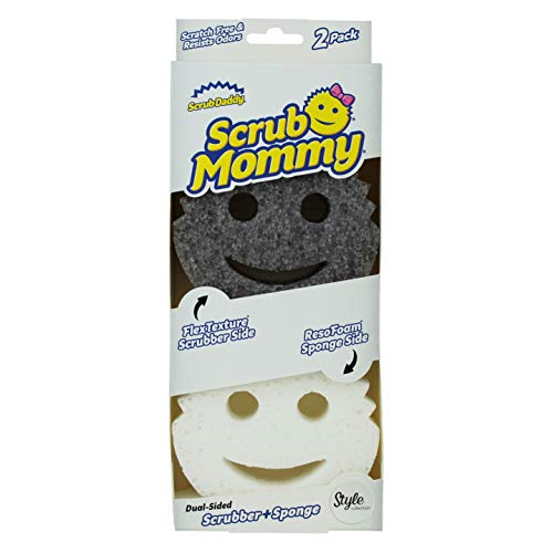 Scrub Mommy Style Collection Schrubber, Grau, 2 Stück