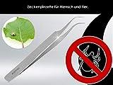 Zeckenpinzette 11,5 cm Zecken-Zange aus rostfreiem Edelstahl - 5