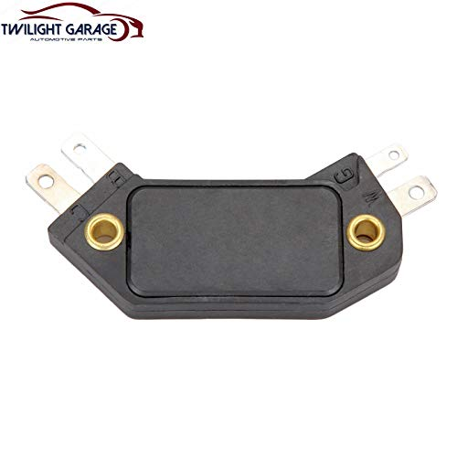 Twilight Garage Ignition Control Module 4 Pin HEI Distributor D1906 LX301 Compatible with 1974-1987 GMC Buick Cadillac Oldsmobile Pontiac