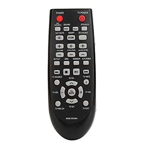 Annadue Ajuste de Control Remoto para Altavoz Samsung AH59-02434A, Control Remoto de Altavoz de Audio de Repuesto, fácil de agarrar y controlar.