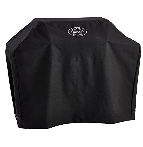 RÖSLE Abdeckhaube BBQ-Station VIDERO G3/G3-S, Hochwertige Schützhülle aus 100% Polyester, mit praktischem Klettverschluss zum Fixieren, wasserdicht