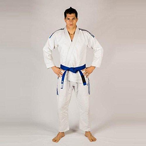 adidas Contest 2.0BJJ/IBJJF Autorizado de jiu-Jitsu brasileño/GI/Kimono/Traje/Selección de Colores/tamaños Selección, Weiss