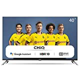 CHiQ Televisor Smart TV LED 40 Pulgadas, FHD, HDR10/HLG, Android 9.0, WiFi, Bluetooth, Google Assistant, Netflix, Prime Video HDMI, USB - L40H7A