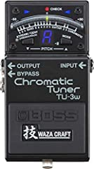 The worlds leading stomp box Tuner, Enhanced with WAZA innovation and craftsmanship Superior tuning and premium signal buffer in one pedal Tuning functions are identical to the industry-standard tu-3 Refined audio circuitry for exceptionally pure sig...