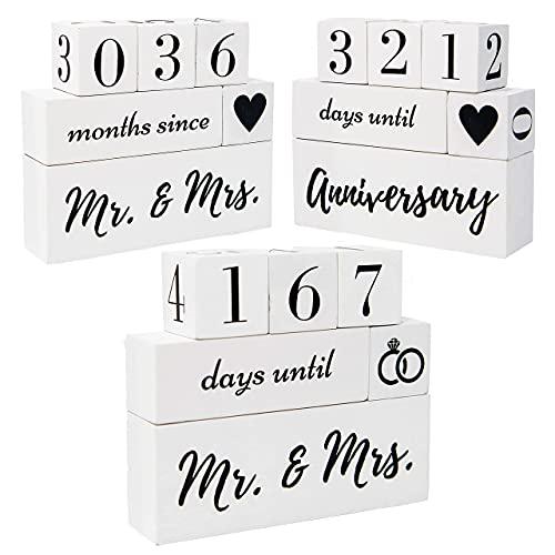 Anniversary Countdown Blocks