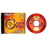 Fujifilm CD-R Pro for Audio, 700MB 52x - CD-R vírgenes (700MB 52x)