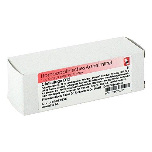 CIMICIFUGA D 12 Globuli 10 g