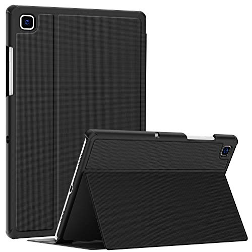 Soke Samsung Galaxy Tab A7 10.4 Case 2020, Premium Shock Proof Stand Folio Case,Multi- Viewing Angles, Hard TPU Back Cover for Samsung Galaxy Tab A7 10.4 inch Tablet [SM-T500/T505/T507],Black