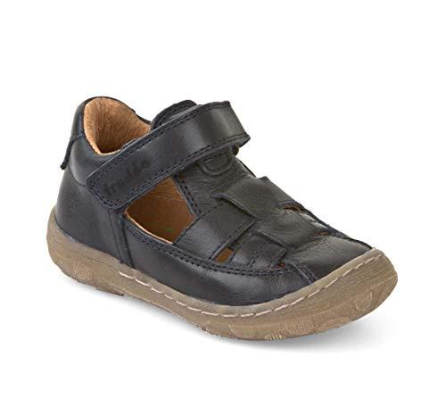 Froddo Schuhe Geschlossene Sandalen Kinderschuhe aus Leder Schmal (Dunkelblau, 20)