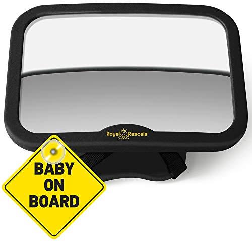 ROYAL RASCALS | Espejo para vigilar al bebé en el coche