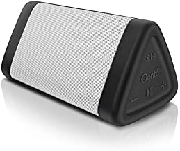 OontZ Angle 3 - Bluetooth Portable Speaker, Crystal Clear Stereo Sound, Rich Bass, 100 Ft Wireless Range, Play Two Speakers Together (4th Gen only), Mic, IPX5, Bluetooth Speakers (White)