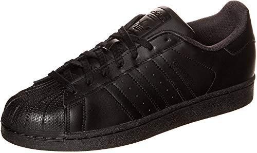 Adidas Originals Superstar Foundation, Baskets Basses homme, Noir (Core Black/Core Black/Core Black), 45 1/3 EU (10.5 UK)