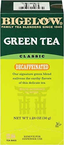 Bigelow Decaffeinated Green Tea 28-Count Box (Pack of 1)