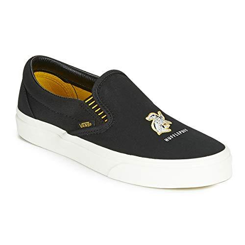 Vans Classic Slip On Harry Potter Hufflepuff Men's Skate Skate Shoes Size 11.5