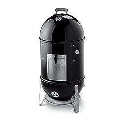 powerful Weber Smokey Mountain 18 ″ Stove Charcoal Smoker