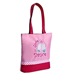 Sassi Designs Love 2 Dance TEAL Slippers Tote