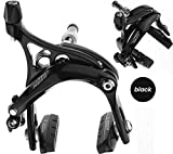 Tektro R539 Short Reach Fixie Track Road Bike Dual Pivot Brake Calipers Black