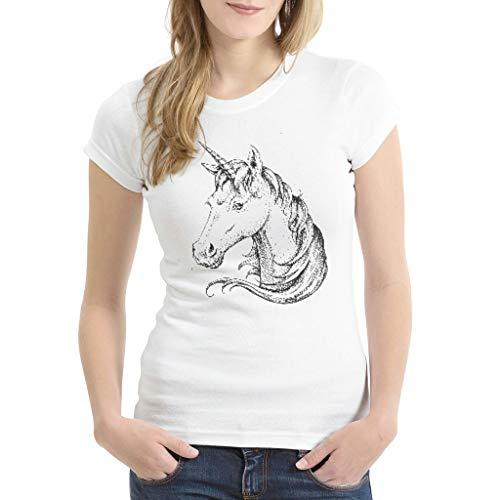 3D Digitaldruck Bunt Kurzärmliges T-Shirt für Mutter White 3X-Large