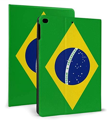 Brazil Flag PU Leather Smart Case Auto Sleep/Wake Feature for iPad Air 1/2 9.7' Case