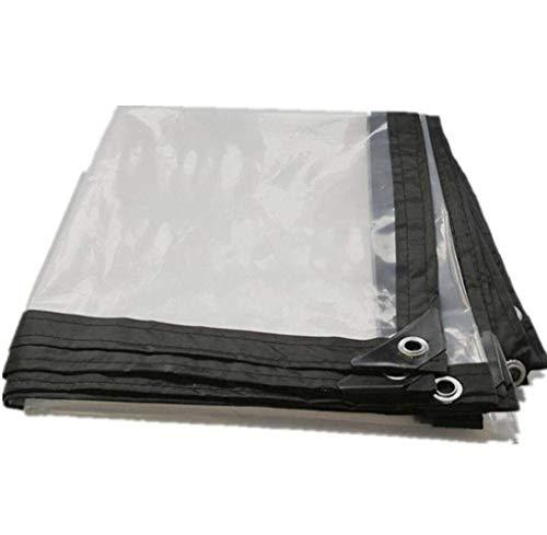 Jonist Tarpaulin Waterproof Heavy Duty Tarp Waterproof, Waterproof Heavy-duty Thick Tarpaulin, Covered With Rain-proof And Heat-insulating Sun-proof Tarpaulin, Multifunctional PVC Thickness (transp