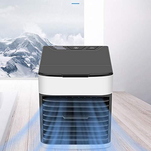 MISS YOU Aire Acondicionado USB Aire Acondicionado Ventilador Enfriador de Aire de refrigeración, más Agua en el hogar pequeño Ventilador portátil de Aire Acondicionado Mini
