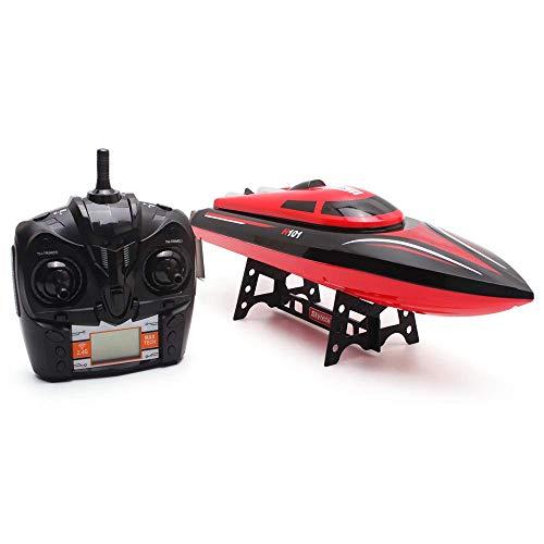 kaige Rennboot 2.4G 4CH Fernbedienung Racing Yacht Spielzeug Simulation Model RTR Version Outdoor-Spielzeug RC Boote WKY