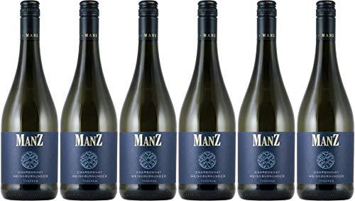 Manz Chardonnay & Weißburgunder 2019 Trocken (6 x 0.75 l)