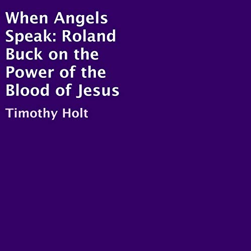 When Angels Speak cover art