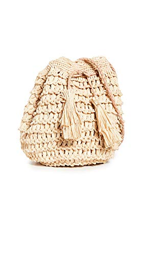 Mar Y Sol Women's Olympia Bucket Bag, Natural, Tan, One Size