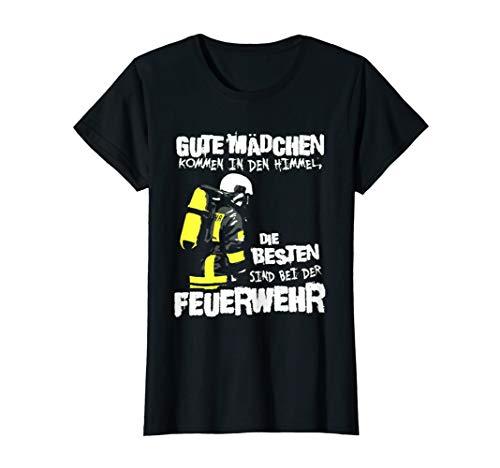 Feuerwehr Lustig Frauen Feuerwehrmann T Shirt