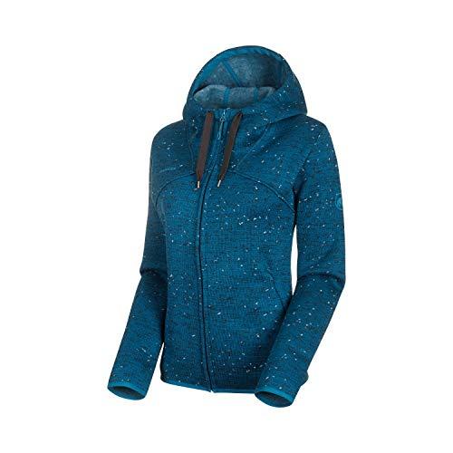 Mammut Damen Chamuera Hooded Midlayer-Jacke mit Kapuze, Sapphire, L