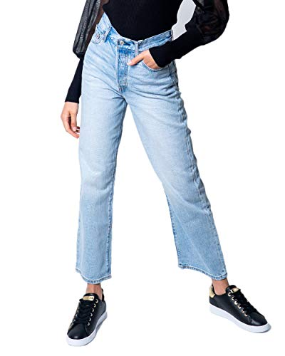Levi's® Ribcage Straight Ankle Jeans Middle Road