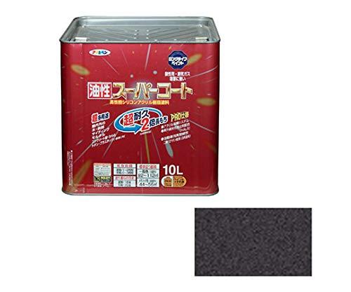 油性スーパーコート 10L (銀黒)/62-2308-90
