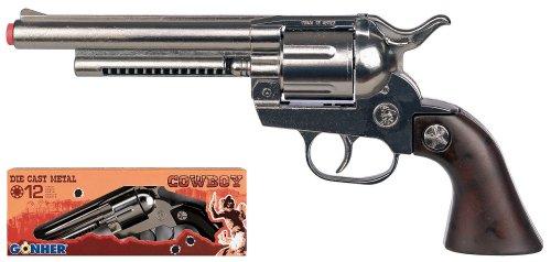 Metall 12-Ringschuss Revolver GONHER Schuss Pistole Revolver Flinte Gewehr Kollektion 121_0 cowboy, hergestellt in Europa.