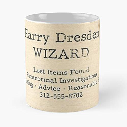 Harry Files Dresden Best 11 oz Kaffeebecher - Nespresso Tassen Kaffee Motive