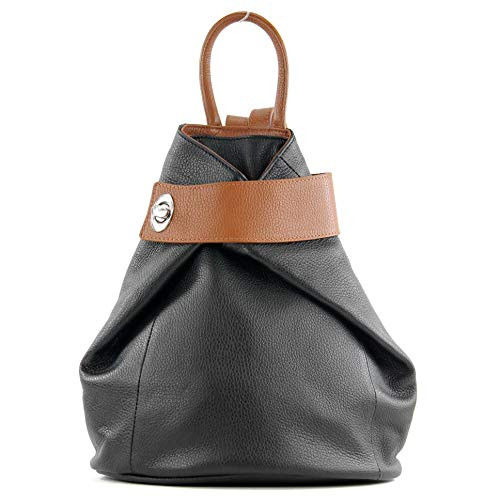 modamoda de - T179 - ital: Dames rugzak tas lederen