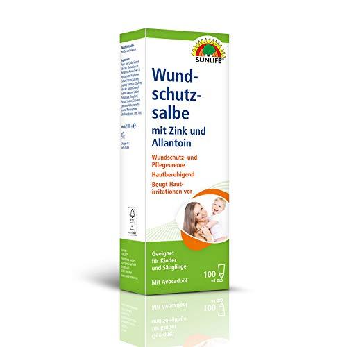 SUNLIFE Wundschutzsalbe: Wundsalbe mit Zink & Allantoin. beruhigt die Haut. geeignet für Kinder & Säuglinge. 100ml