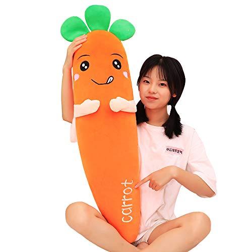 Wortelvormige knuffel Zacht Comfortabel dutje Kussen Slaapkamer Decor Gift Doll,120CM
